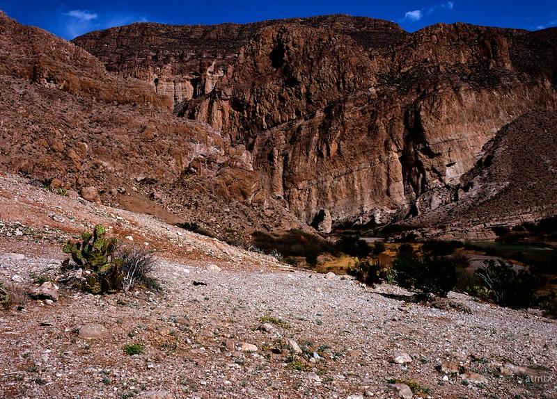 Rockface, Boquillas Canyon - Big Bend National Park, Texas