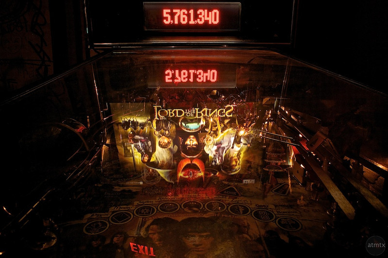 Lord of the Rings Pinball - Austin, Texas