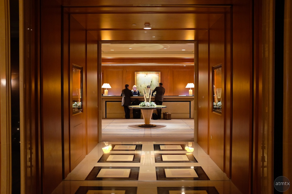 Checking in at the Four Seasons - San Francisco, California