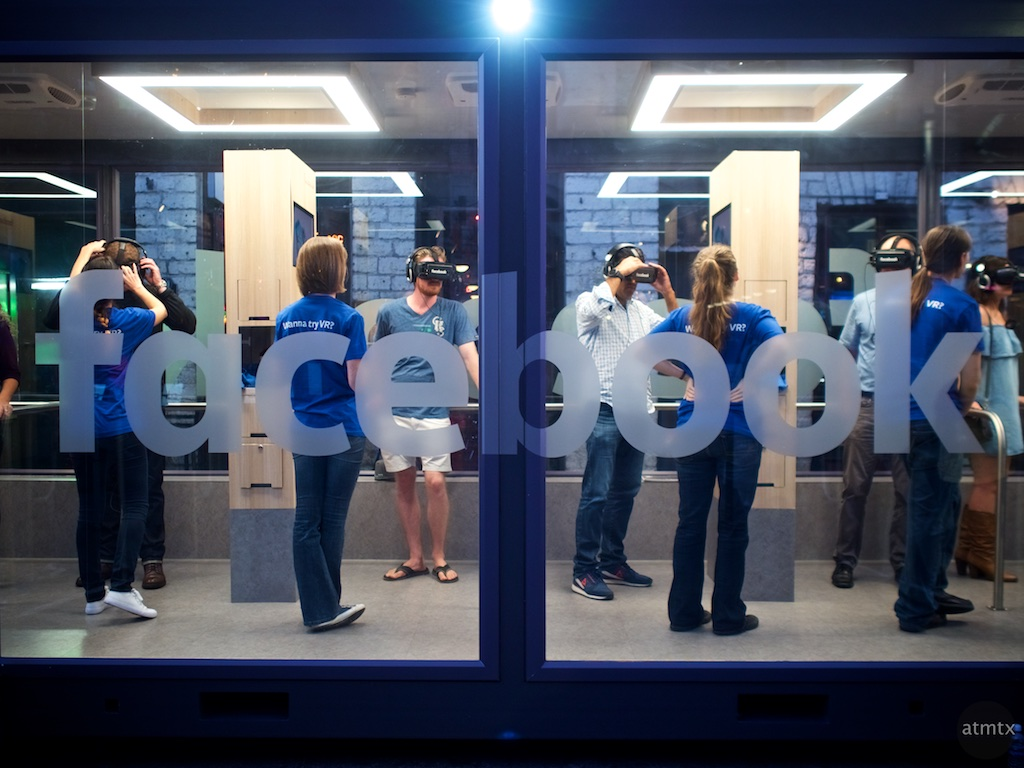 Facebook's Glass VR Room, 2016 Fan Fest - Austin, Texas