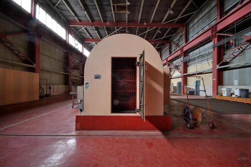 Holly Power Plant, Generator Door - Austin, Texas