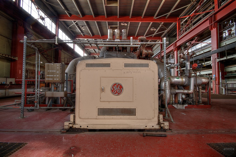 Holly Power Plant, GE Generator - Austin, Texas