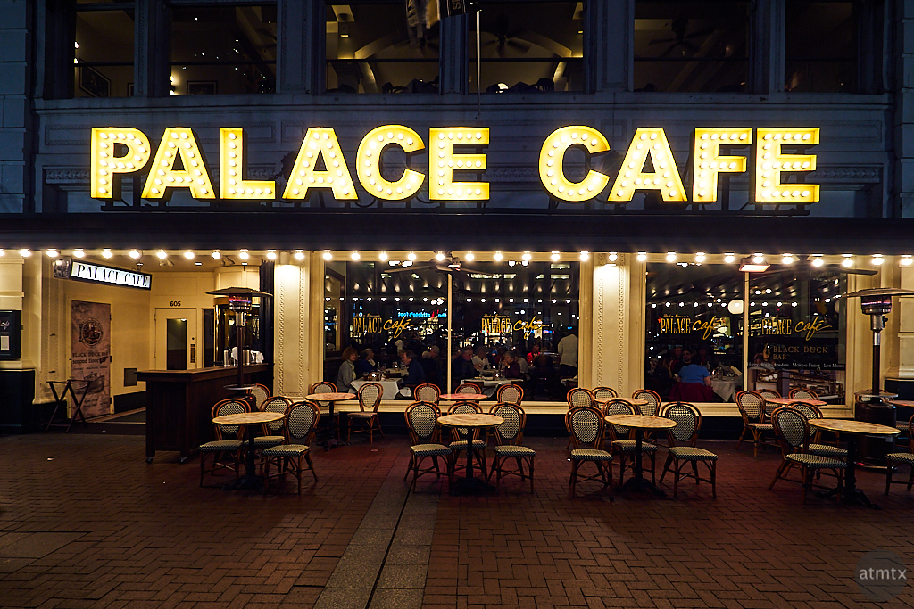 Empty Tables, Palace Cafe - New Orleans, Louisiana