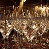 Overlapping Wine Glasses, Cypress Hotel - Cupertino, California