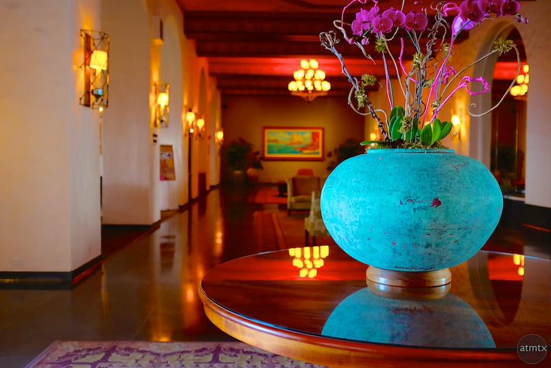 Blue Vase, Royal Hawaiian - Honolulu, Hawaii