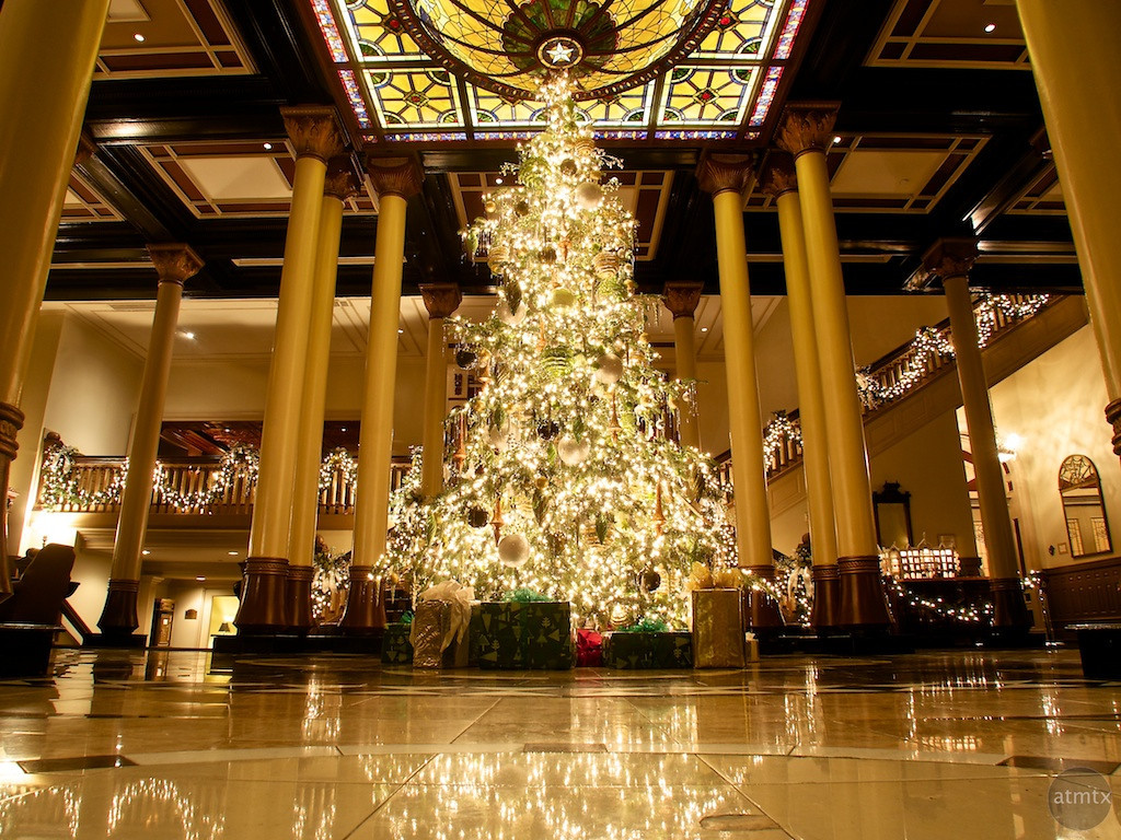 2013 Driskill Christmas Tree #1 - Austin, Texas