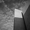 Wall and Clouds, University of Texas - Austin, Texas