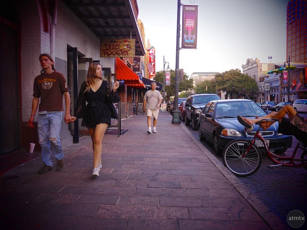 Casual Smoker, 6th Street - Austin, Texas