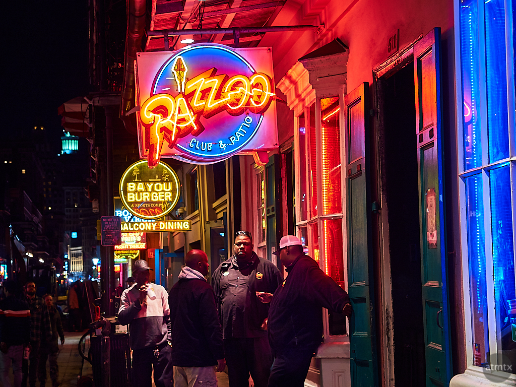 Neon, Razzoo - New Orleans, Louisiana