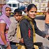 Roadside Family Portrait - Agra, India