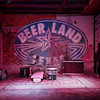 Stage, Beer Land - Austin, Texas