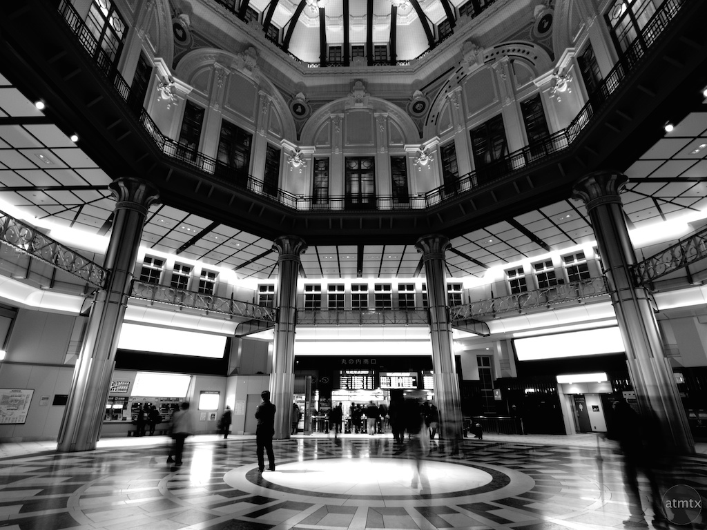 Tokyo Station Interior - Tokyo, Japan