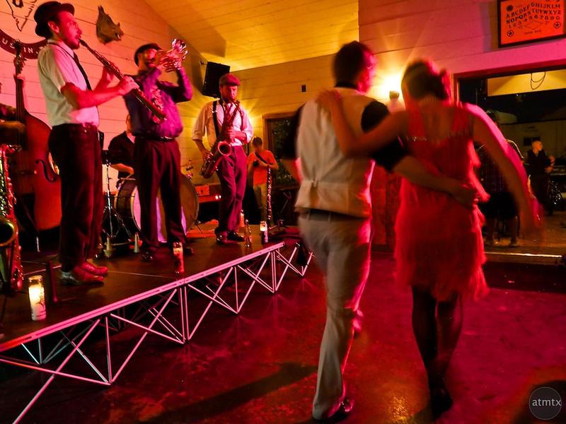 Dancing with the East Side Dandies, Javalina Bar - Austin, Texas