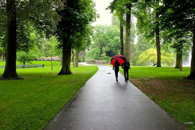 Rainy Day Stroll, Park Valkenberg - Breda, Netherlands