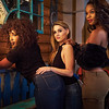 Tenille, Danielle and Layilah, Drink and Click Portrait - Austin, Texas