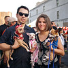 Marcus, Ana and their Chihuahuas, Dia de los Muertos - Austin, Texas