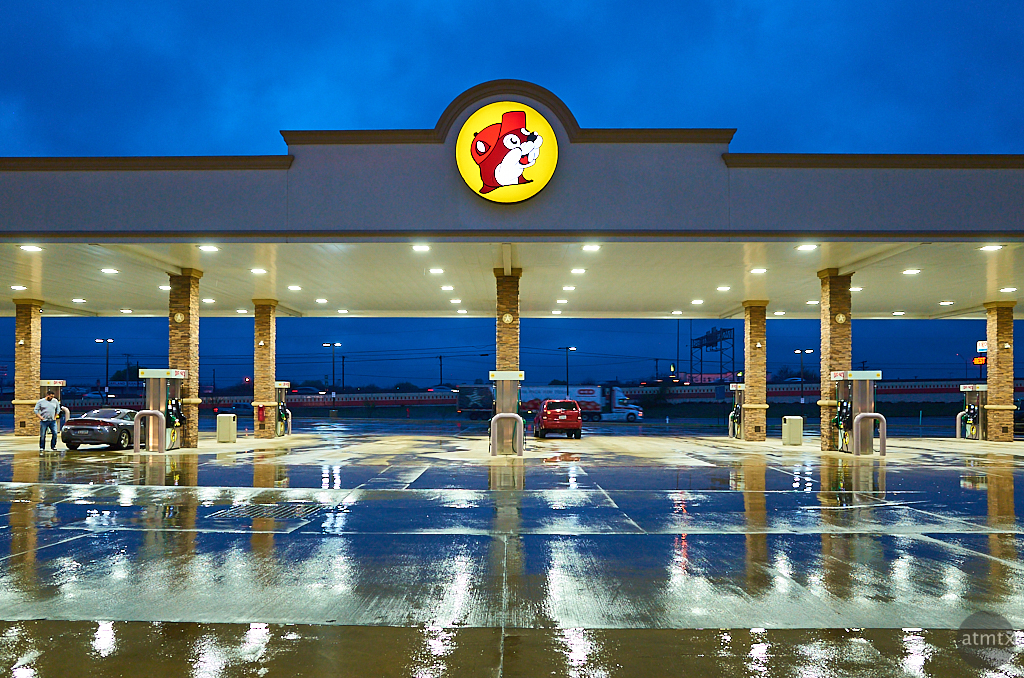 Blue Hour at Buc-ee's - New Braunfels, Texas