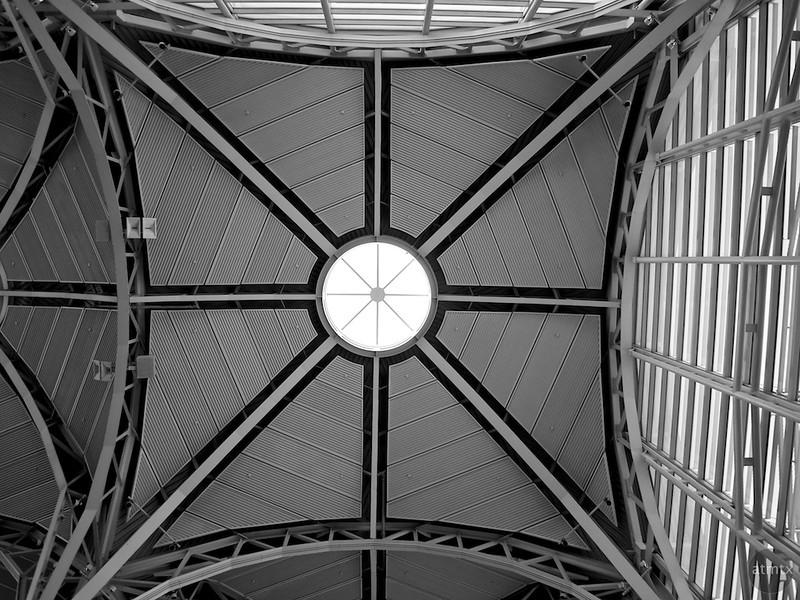 Ceiling Detail #1, Reagan Washington National Airport - Washington DC