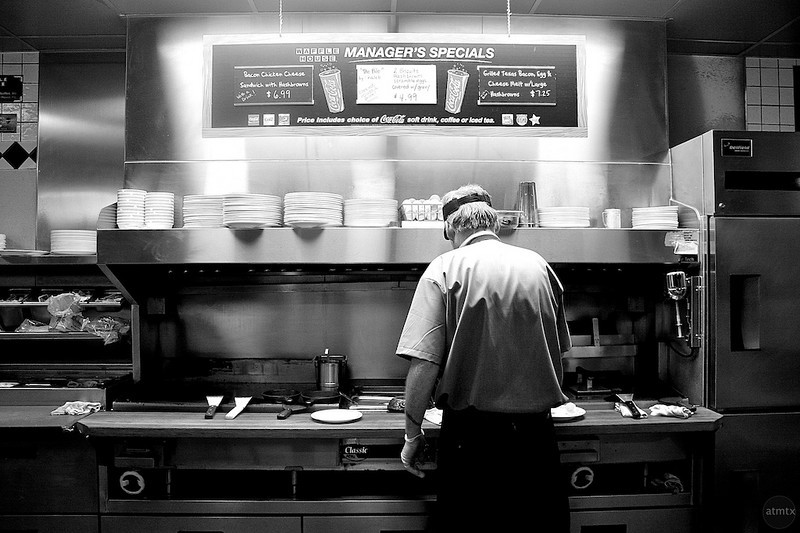 Short Order Cook, Waffle House - Austin, Texas