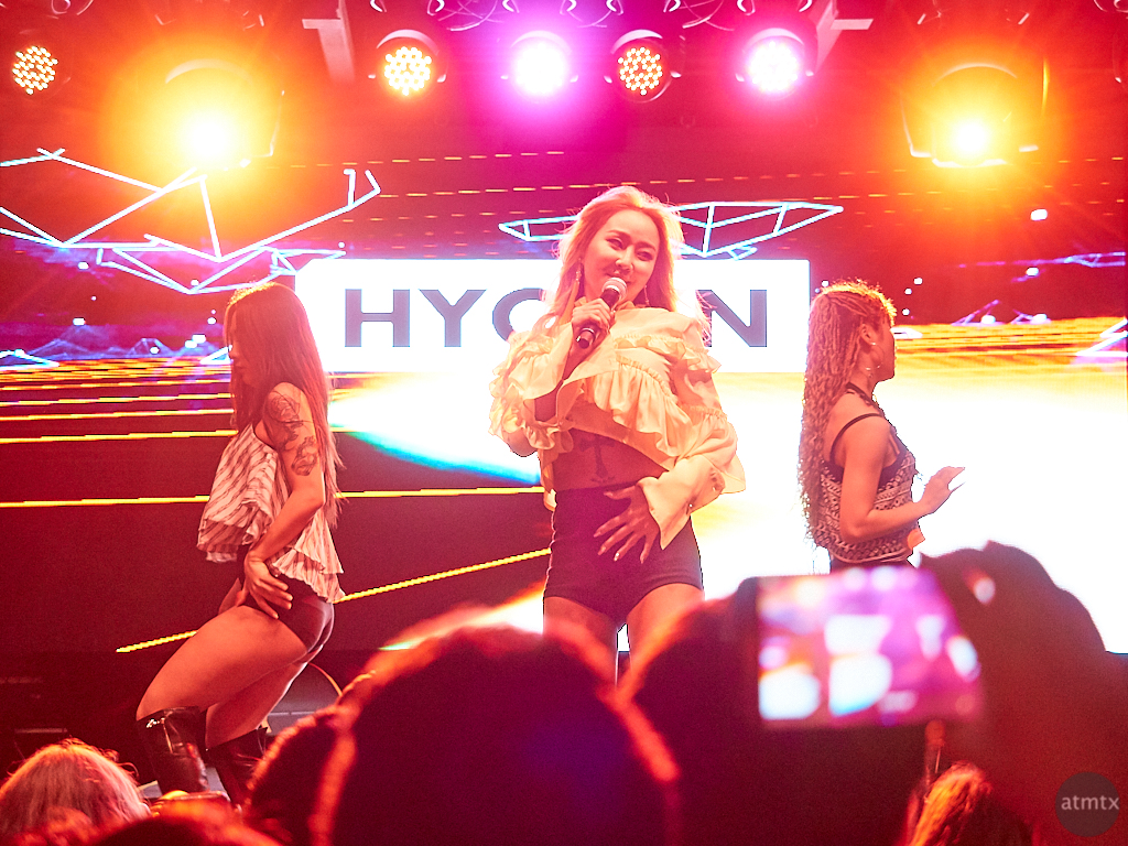 Hyolyn, 2017 SXSW K-Pop Night Out - Austin, Texas