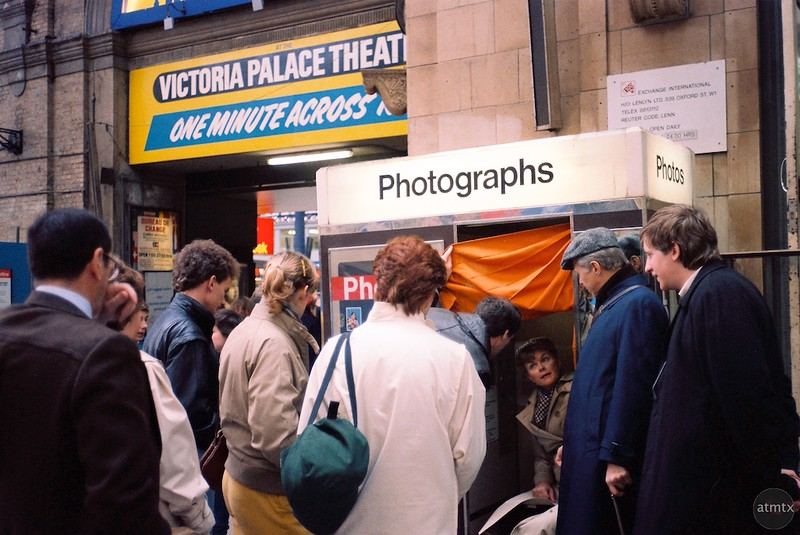 The Photo Booth, Victoria Station - London, England