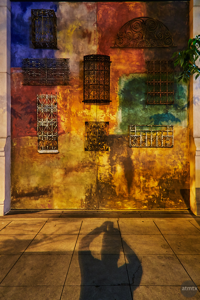 Self Portrait, Santana Row - San Jose, California