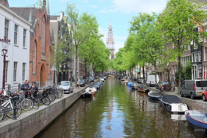 Picturesque Canal - Amsterdam, Netherlands (original)