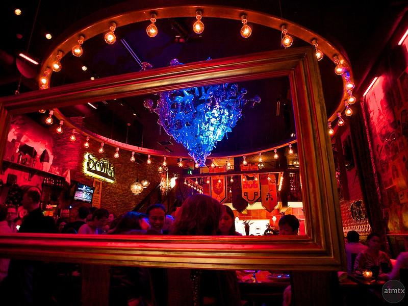 Geometry, Cafe Sevilla - San Diego, California