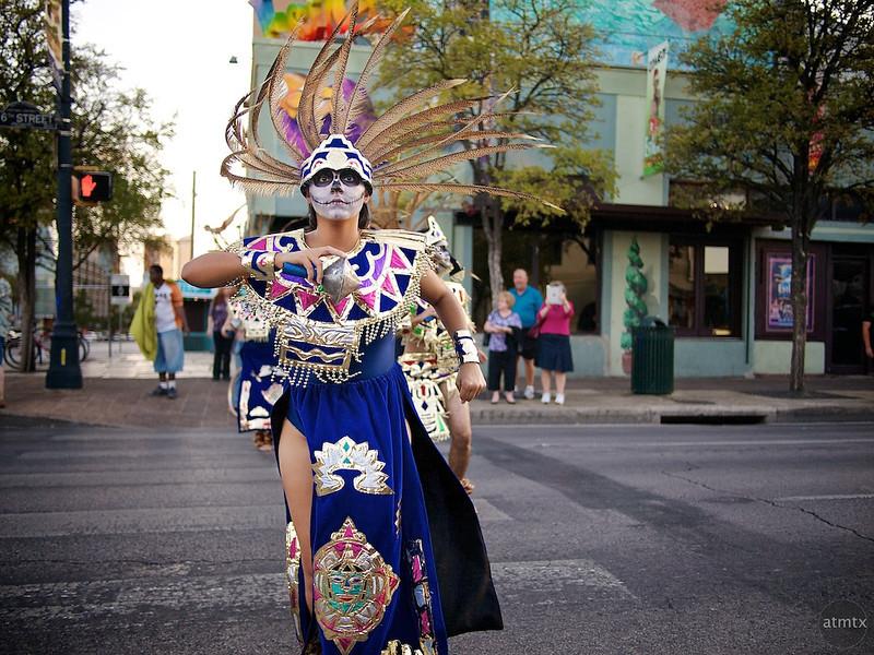 Dia de los Muertos Parade - Austin, Texas