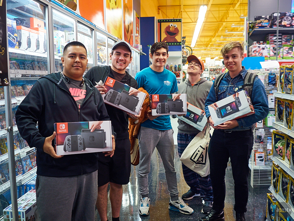 Happy Nintendo Switch Fans - Austin, Texas