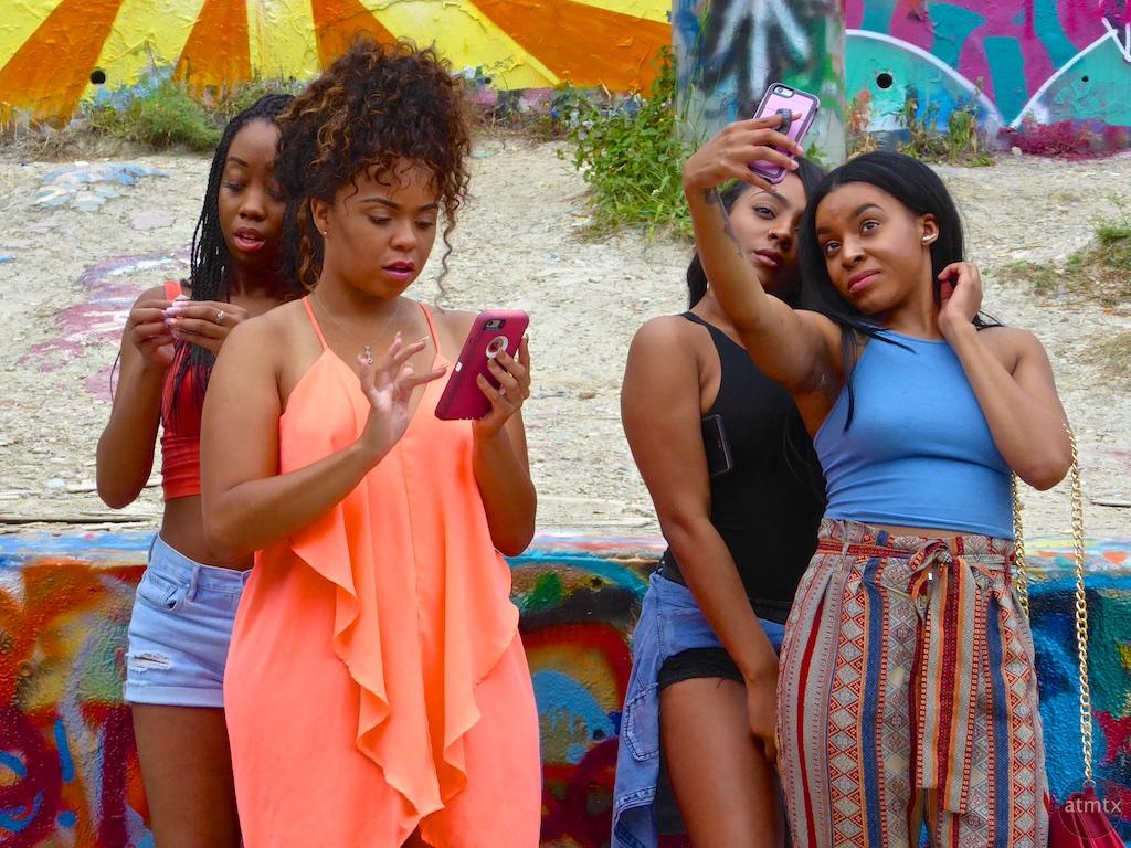 Selfie, Graffiti Park - Austin, Texas