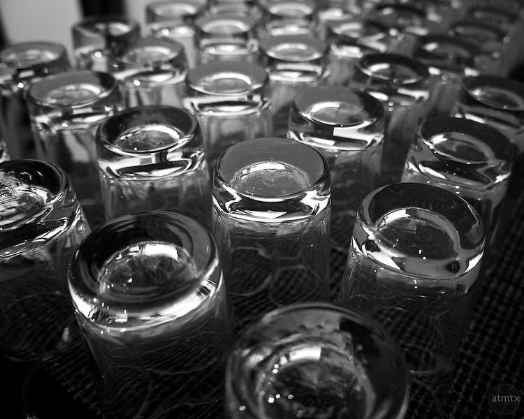 Glass Bottom Reflections - Austin, Texas