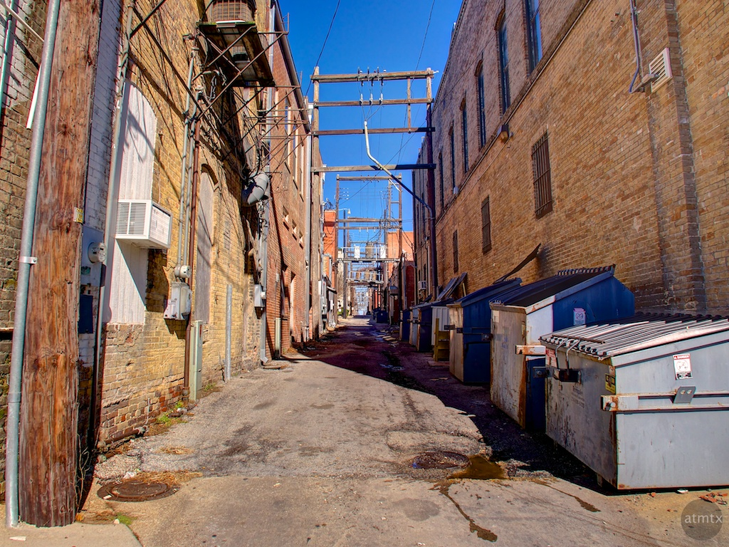 Alleyway - Temple, Texas