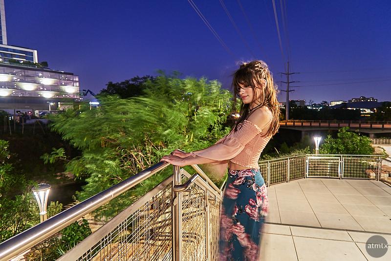 A Portrait with Motion Blur - Austin, Texas