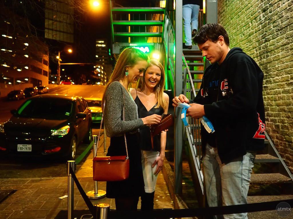 Paying the Entrance Fee, 6th Street - Austin, Texas
