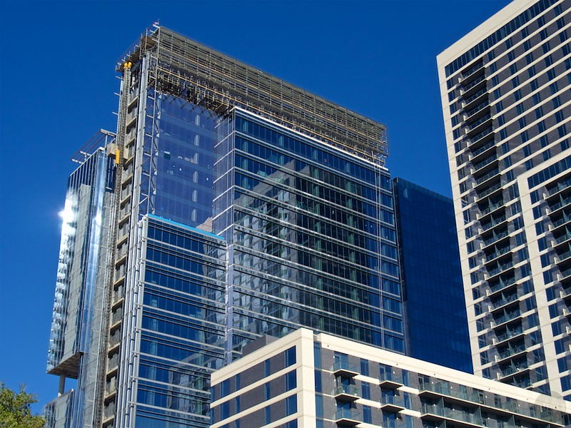 Office Building Under Construction - Austin, Texas