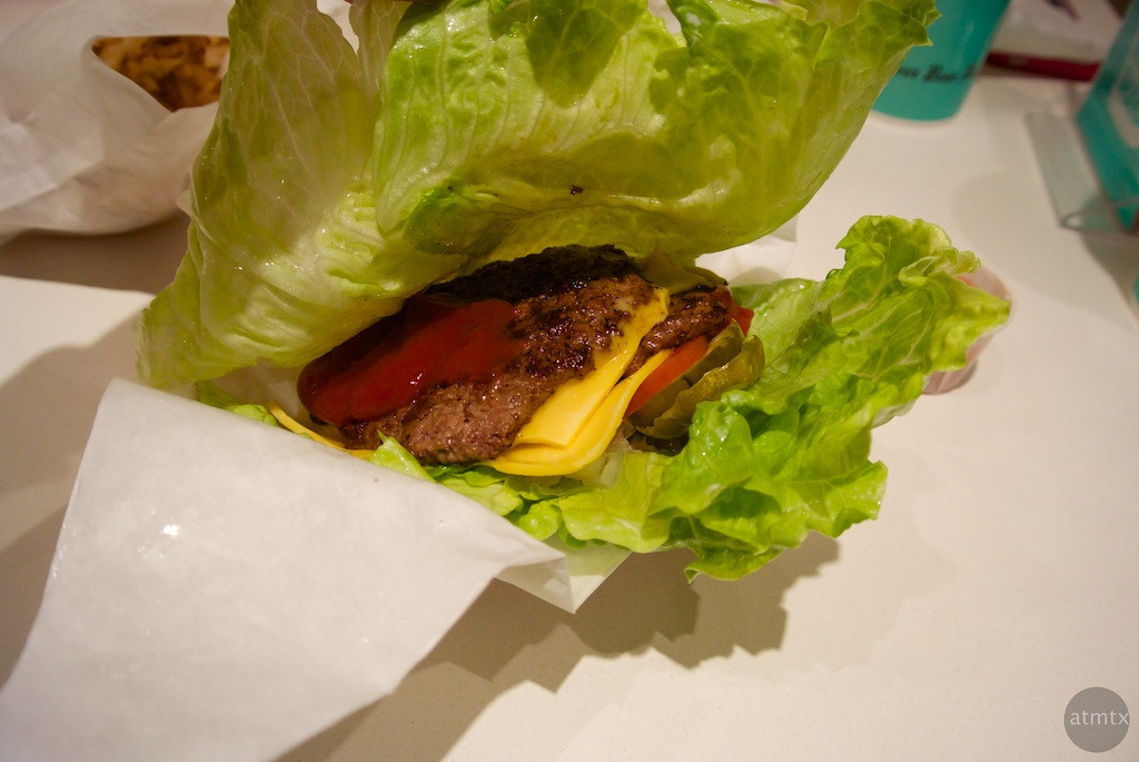 Lettuce Wrapped Burger, P Terry's - Westlake, Texas