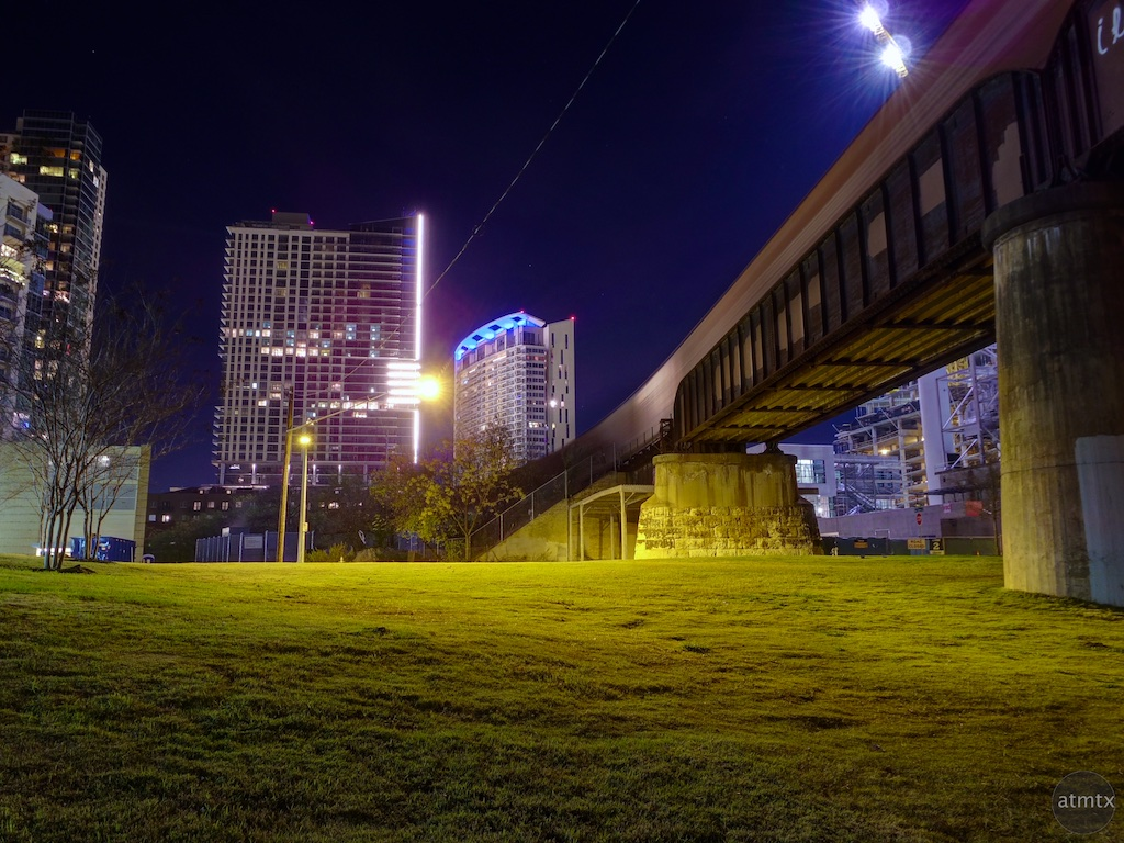A Train Runs Through It - Austin, Texas