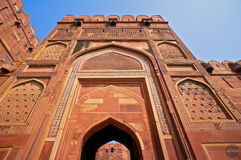 Imposing Entrance, Agra Fort - Agra, India