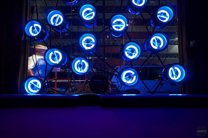 Lucky Lounge's Window Neon - Austin, Texas