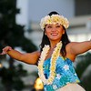 Hula Dancer, Waikiki Beach - Honolulu, Hawaii
