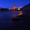 Golden Gate Bridge from the beach - San Francisco, California