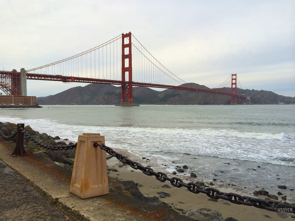 Golden Gate Bridge - San Francisco, California (iPhone 5S)