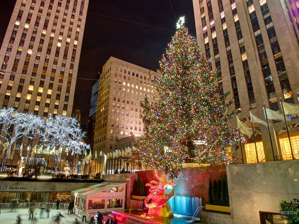 Christmas Tree, Rockefeller Center - New York, New York
