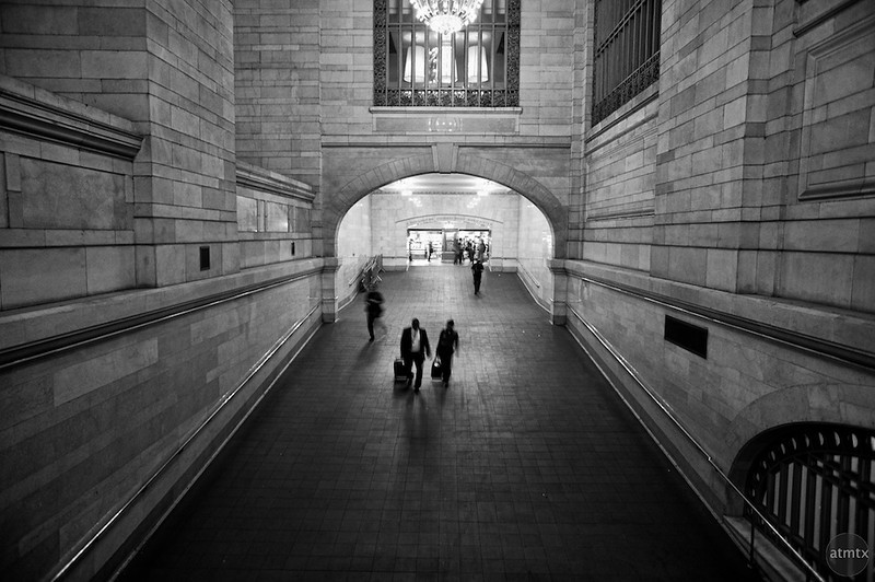 Tunnel, Grand Central Station - New York, New York