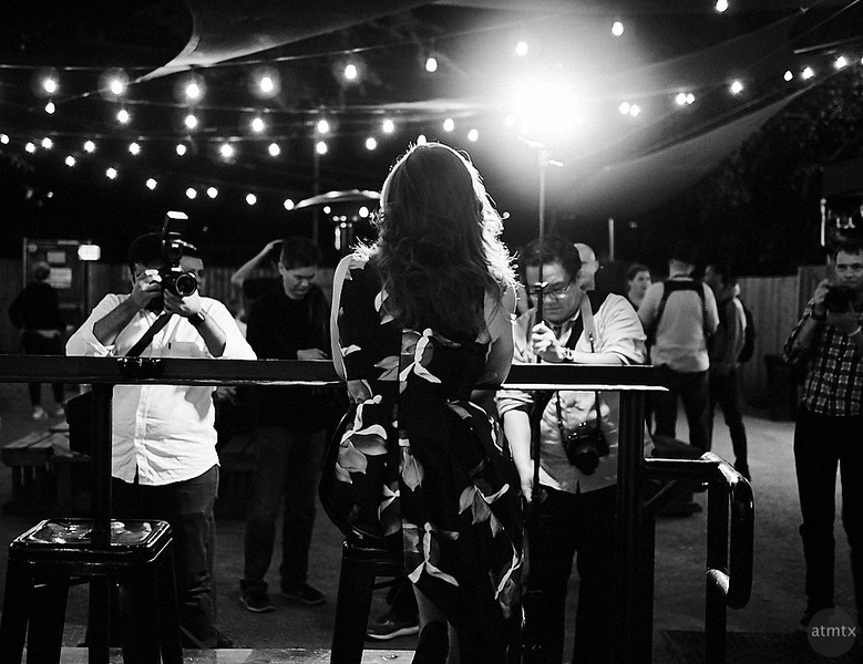 Behind the Photoshoot, Drink and Click - Austin, Texas