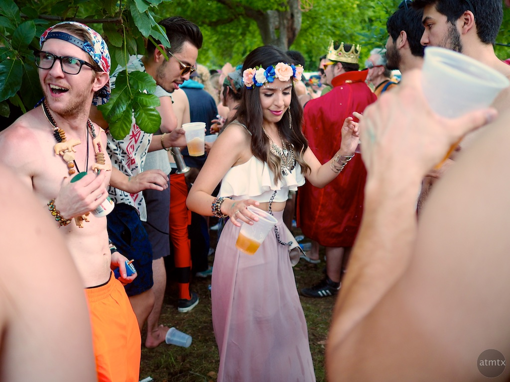 Dancing Girl #1, Eeyore's Birthday Party 2015 - Austin, Texas
