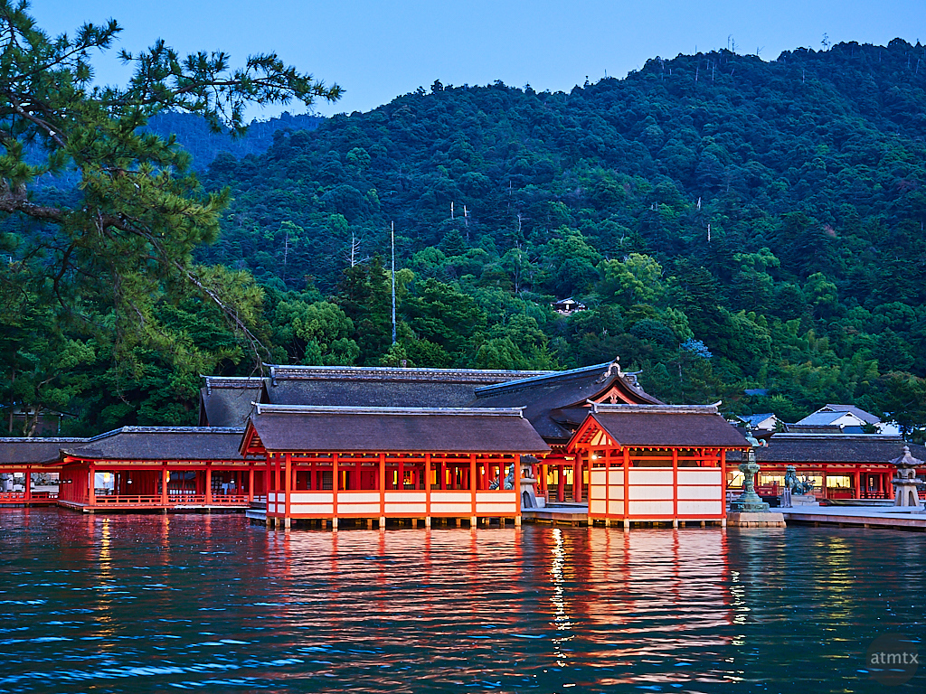 Itsukushima Shrine at Blue Hour - Miyajima, Japan