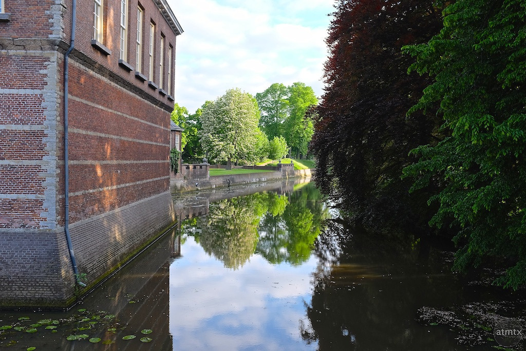 Reflections at Breda Castle - Breda, Netherlands