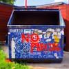Lofi Dumpster, East Austin - Austin, Texas
